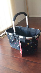 new with tag collapsible carrying basket
