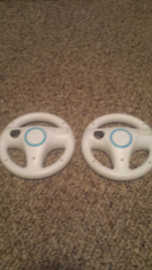 Two wii wheels