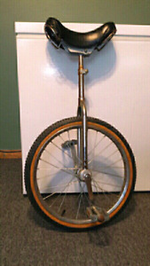 Unicycle. Sturdy and fun to ride