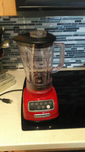 KitchenAid 5-Speed Classic Blender in Empire Red