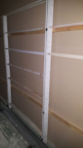Store shelves  used