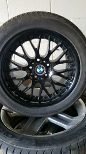 BMW BBS RS740 rims & tires