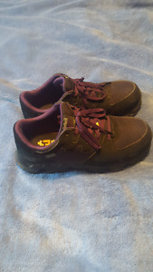 Women's Timberland steel toe work shoes