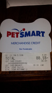 PetSmart Gift Card - 20% Off! $88 for $70/firm!!