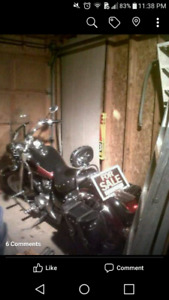 2007 Honda. Shadow mint condition. Ready to to ride