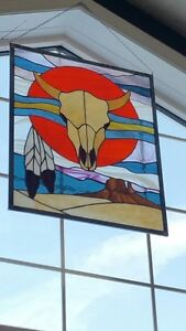 Southwestern Stain Glass pieces