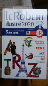 Dictionnaire Le Robert illustré 2020