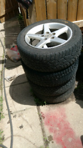 Acura rims and exhaust