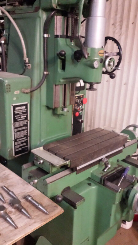 Moore Vertical Jig Borer Excellent Condition Other Business