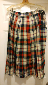 The Scotch House Vintage Kilt Skirt