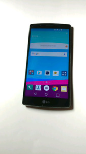 Lg g4 32gb Android phone unlocked, case, charger, extra battery