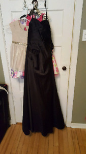 Beautiful black dress. Worn once. Asking 100 or best offer.
