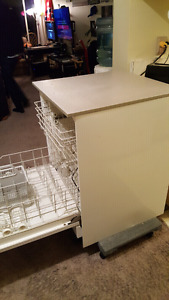 Portable Dishwasher with Counter Top