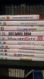 Wiiu and 3ds games