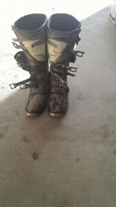 Thor dirt bike boots size 10