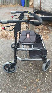 Nexus walker, medium height, foldable, with basket