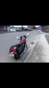 Exc cond 2002  Honda sabre