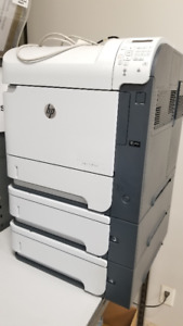 LaserJet 600 M603 Printer with two additional trays