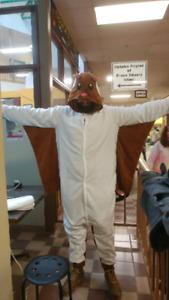 Flying squirrel Halloween costume men's XL