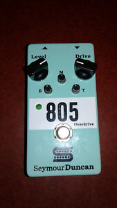 Overdrive 805 seymour duncan use