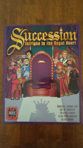 Succession: Intrigue in the Royal Court Game