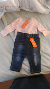 3-6 Month Girls Outfit