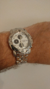 Diamond Chronograph Watch
