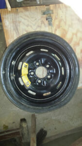 1984 Turbo 300ZX Space Saver Spare Tire