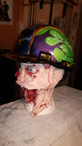 New Airbrushed Hard Hat