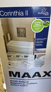 Corinthia bath tub new still in box