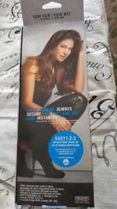 "Brand New, Never Used, 18"" Wavy 8 Piece Hair Extension Kit GIFT"