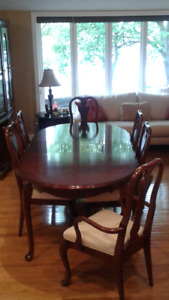 10 Piece Cherry Dining Room Set - Great condition price reduced