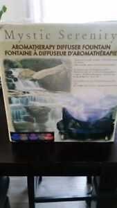 Mystic Colorful Aromatherapy Water Fountain