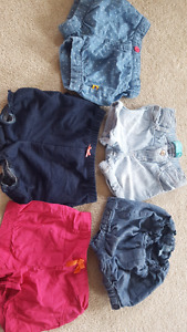 Baby girl shorts 12-24 months
