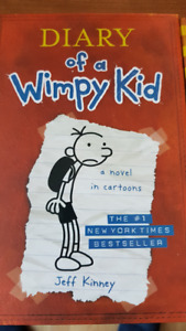 Diary of a Wimpy Kid books, like new