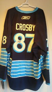 Authentic Autographed SIDNEY CROSBY Pittsburgh Penguins Jersey Cambridge Kitchener Area image 2