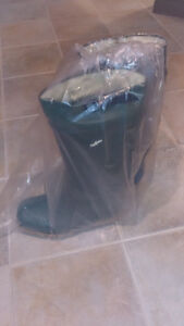 Nokia rubber work boots...keep your feet dry