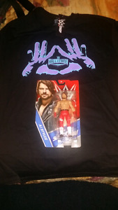 Wwe Wrestlemania Exclusive AJ styles figure