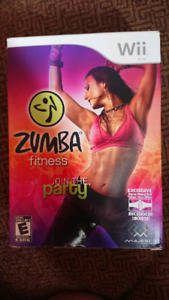 Wii ZUMBA FITNESS WITH BELT