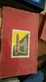 Vintage FLUOLET letters