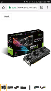 ASUS GeForce GTX 1070 8GB ROG STRIX
