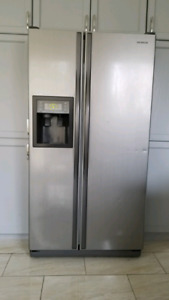 Samsung Stainless Steel Side By Side Fridge 36 inch