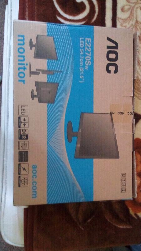 Monitor AOC E2270Sw LED 54 7cm | in Harrow, London | Gumtree