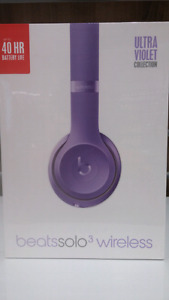 Beats Solo 3 Wireless- Ultra Violet Special edition- Unopened