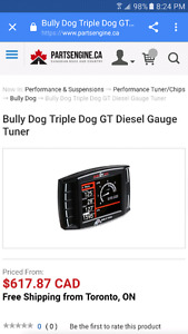 Chip BULLY DOG triple dog gauge GT tuner