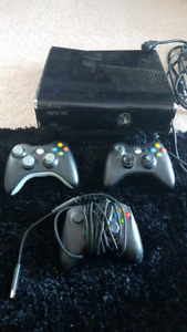 XBOX 360 console, controller and games