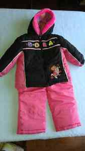 Toddler girl snowsuit 2T