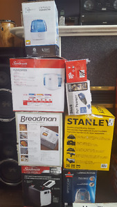 Humidifiers, Vaccuum, Breadmakers & Bissell Spotclean