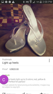 Light up womens shoes