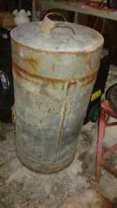antique metal feed storage bin(corn/grain etc) Belleville Belleville Area image 1